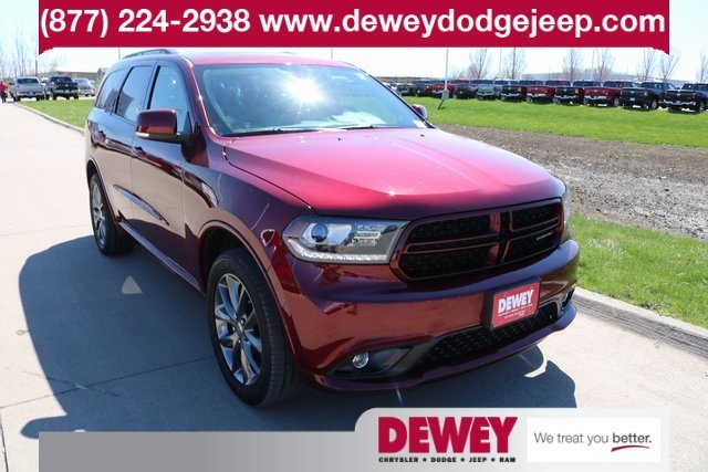 Certified Pre Owned 2017 Dodge Durango Gt