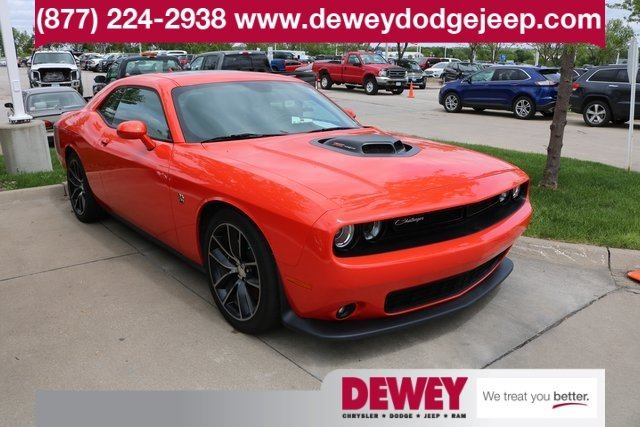 Certified Pre Owned 2016 Dodge Challenger 392 Hemi Pack Shaker