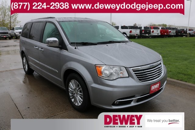 Certified Pre Owned 2016 Chrysler Town Country Touring L Anniversary Edition