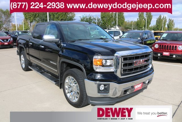 Pre Owned 2014 Gmc Sierra 1500 Slt Crew Cab Pickup In Ankeny