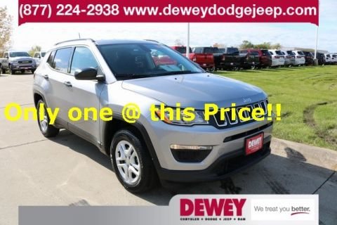 Certified Pre-Owned 2019 Jeep Compass Sport